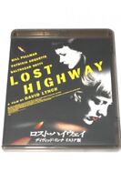Lost Highway David Lynch Re-store edition  Japan Blu-ray