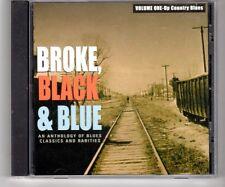 (HJ805) Broke, Black & Blue - Anthology of Blues Classics & Rarities - 1999 CD
