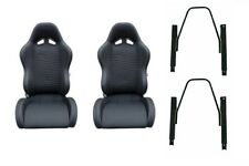 NISSAN GQ PATROL 4WD SPORTS RACING SEATS & HARNESS ADR APPROVED WITH ADAPTORS