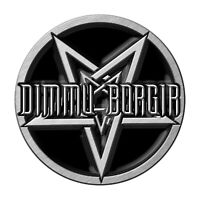 DIMMU BORGIR METALL PIN ANSTECKER BADGE BUTTON # 1 PENTAGRAM LOGO