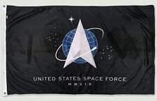 Official US Space Force Flag - Multiple Sizes - Outdoor Nylon - 100% Made in USA
