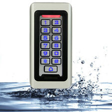 Waterproof Ip68 Led Keypad Standalone Access Control Home Door Entry Controller