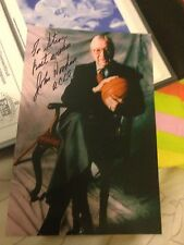 John Wooden Personalized Signed 4 By 6 Picture
