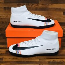 *NEW* Nike Mercurial Superfly 6 Club IC Men's Indoor Soccer Football Shoes White