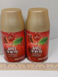 Glade Automatic Spray Refill Apple of My Pie Limited Edition! Lot of 2!
