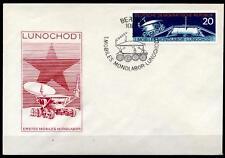 """1. mobile mondlabor """"Lunochod - 1"""". FDC. RDA 1971"""