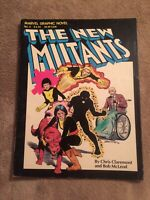 MARVEL GRAPHIC NOVEL #4: 1ST NEW MUTANTS 3RD PRINT Movie Coming [Marvel, 1982]