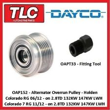 OAP152 Alternator Overrun Pulley Colorado / 7 RG 2.8TD 05/12 on 132kw 147kw LWH