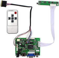 "HDMI+VGA+2AV Input LCD Controller Board For LP101WX1 HSD101PWW1 7~10.1"" 1280x800"
