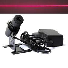 Adjusted Red Diode 650nm 100mw Laser Line Module 22x70mm w EU Adapter & Heatsink