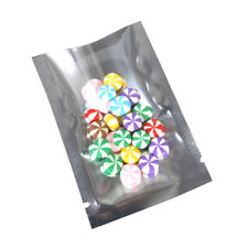 Bulk Clearance Case 18000 Glossy Clear Silver Open Top Bags 6x9cm 2.25x3.5in