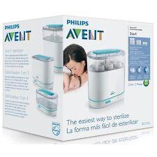 Philips AVENT 3-in-1 Elettrico Sterilizzatore A Vapore BBA GRATIS Pulitore