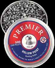 Crosman Premier Hunting Pellets Hollow Point .177 Caliber 7.9 Grains 500 Count