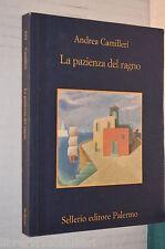 LA PAZIENZA DEL RAGNO Andrea Camilleri Sellerio 2004 libro romanzo giallo storia