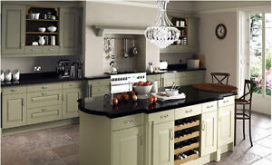 Windsor Classic Painted Traditional Kitchen, Complete Kitchen, Rigid Built Units