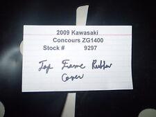 2009 09 Kawasaki Concours ZG1400 Top Frame Rubber Cover