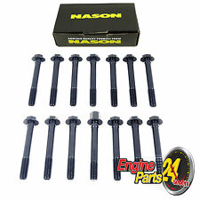 FORD 250 200 4.1 3.3 LITRE CROSSFLOW CYLINDER HEAD BOLT SET NASON NHBS535