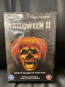 Halloween II (DVD) (NEW AND SEALED) (REGION 2) (FREE POST)