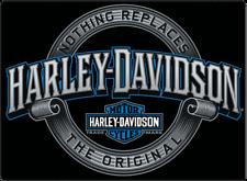 """""""IRREPLACEABLE """" Harley-Davidson Tin Sign Embossed Garage 361"""