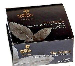 Black Seed Herbal Tea with Mint ( Original) 20 Tea Bags