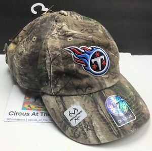 Tennessee Titans NFL / '47 Brand / Realtree Xtra / Adjustable Cap Hat / Camo