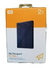 WD My Passport 2TB External USB 3.0 Portable Hard Drive (WDBYVG0020BBK)
