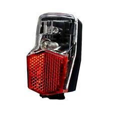 Kleines Fahrrad LED Rücklicht mit Standlicht, Nabendynamo, Schutzblech Montage