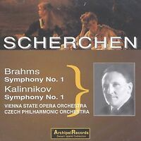 Scherchen Brahms/Kalinnikov Symphony No 1 - New - Sealed