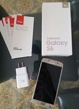 Samsung Galaxy S6 Gold 32 Gb W/ Original Box - Not Working - Fell in Water