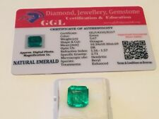 5.67 cts. NO RESERVE Transparent Colombian Emerald Estate Collection Lot NY 9