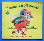 Libri ragazzi - Il gatto con gli stivali - Collana Rosa d'oro - 1950 ca.