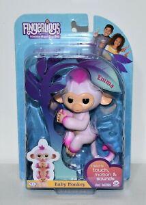 WowWee Fingerlings Emma Interactive Toy Baby Monkey