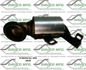 Catalytic Converter-Exact-Fit Front Davico Exc CA 19518