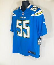 NWT Nike Men's San Diego Chargers Junior Seau #55 Jersey Size M-479429-491