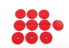 10 NEW RED SPOOL PIN FELT PADS CRAFTS SEWING MACHINE