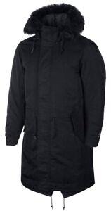 Nike Sportswear Down Fill Parka Jacket - Black - XL