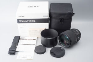 Sigma 135mm f/1.8 f1.8 DG HSM Art Lens, For Canon EF Mount, Boxed