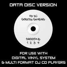 CD DJ SCRATCH SAMPLES - DATA DISC : CDJ : TRAKTOR : SERATO : DVS