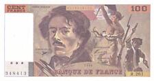 Billets de la banque française sur Delacroix