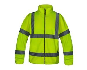 Aqua Hi-Viz Yellow Jacket size Large