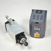 3KW ER20 Air-cooled Spindle Motor+Variable Frequency Drive VFD Inverter CNC