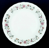 "Vintage Sheffield ""Bouquet Pattern"" Porcelain Fine China Dinner Plate 10 3/8 in."
