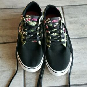 Vans Womens Size 10 Floral And Palm