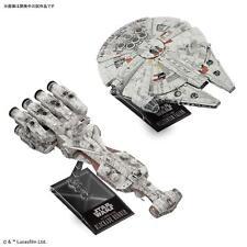 Bandai Star Wars 1/1000 Blockade Runner & 1/350 Millennium Falcon Plastic Kit