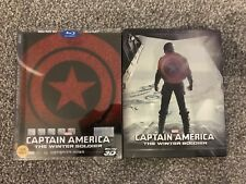 Captain America The Winter Soldier Blu-ray 3D Steelbook Best Buy Korean Slipcase