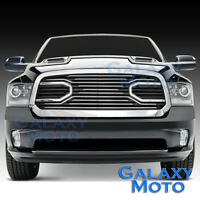 13-17 Dodge RAM Truck 1500 Front Hood Big Horn Chrome Replacement Grille+Shell