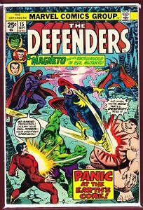 MARVEL _ THE DEFENDERS _ # 15 _ FN _ 1974 _ MAGNETO _