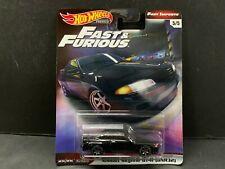 Hot Wheels Nissan Skyline GTR R32 BNR32 Black Fast and Furious GBW75-956A 1/64