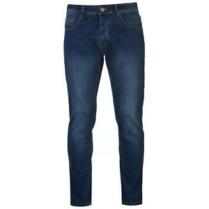 883 Police Mens Cass MO366 Jeans Slim Pants Trousers Bottoms Regular Fit Stretch