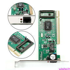 PCI For PC RTL8139D 10/100M 10/100Mbps RJ45 Ethernet Network Lan Card Adapter W1